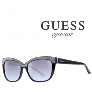 Guess® By Marciano Sunglasses GM0730 5501B | Black and Silver