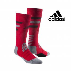 Adidas® Meias Basketball | Tecnologia Climalite® | Vermelho