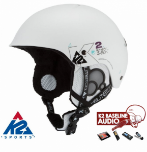 K2 Capacete Clutch Pro Branco Metallic C | Audio