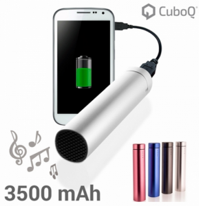 Power Bank | 3500 mAh |  Com Coluna Altifalante