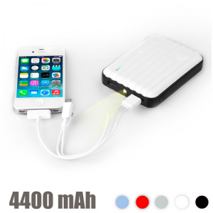 Power Bank | Com Led 4400 Mah