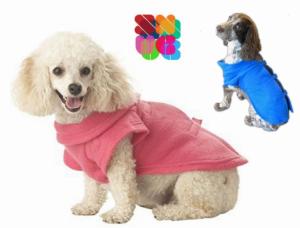 Manta com Mangas para Pequenos Cães