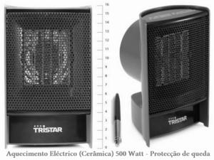 Tristar® Aquecedor Eléctrico Portátil