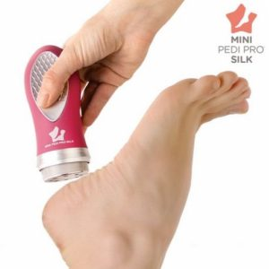 Removedor de Calos Mini Pedi Pro Silk | Tenha uns Pés Suaves Como a Seda !