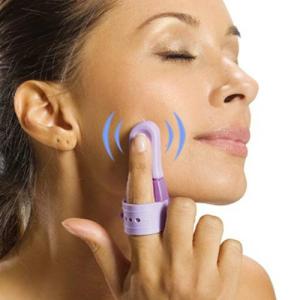 Mini Massajador Vibratório de Dedo | Portátil Contra Dores de Cabeça, Muscular e Stress Acumulado