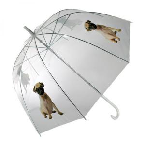 Guarda Chuva | Cachorrinho | Transparente de Grande Cobertura