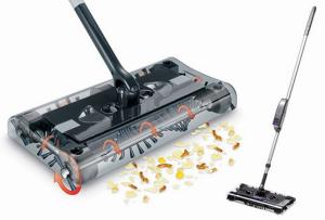 Magic Sweeper Vassoura Elétrica | Perfeita Para Aspirar Rapidamente e Extremamente Silenciosa
