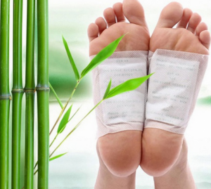 Pack 10 Kinoki Foot Detox Patches | Elimine as Toxinas do Seu Corpo Enquanto Dorme