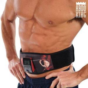 Cinto Electroestimulador Abdo King | Abdominais Perfeitos de Forma Relaxante e Sem Esforços