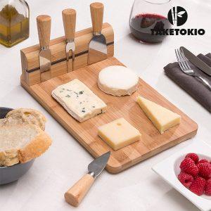 TakeTokio | Conjunto de para Cortar Queijo | 5 peças