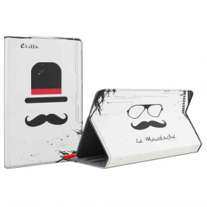 Capa Tablet Evitta 7 Le Moustache