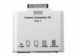Kit ligação de Câmera para Ipad | Iphone
