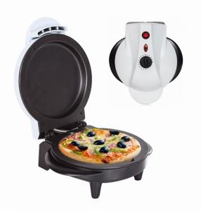 Máquina Fazer Pizzas | Superfície Anti-aderente | Pés Antiderrapantes | Potência 750w | Diâmetro 14cm