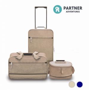 Travelling Bag Set 3 Peças I 1 Mala Trole I 1 Saco de Transporte I 1 Saco Beleza
