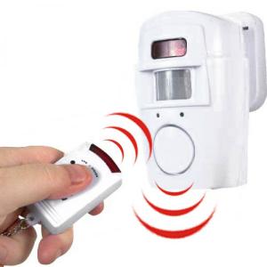 Alarme Sensor de Movimento | 2 Comandos l Uma opção Simples de Alarme de Segurança Muito Económica e Eficaz