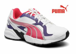 Puma® Axis I Branco Rosa|Roxo