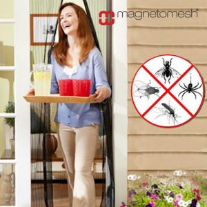 Cortina Magnética Anti-Insectos | Desfruta do Bom Tempo com a Porta Aberta