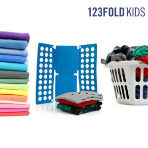 Dobrador de Roupa Infantil 123 Fold Kids