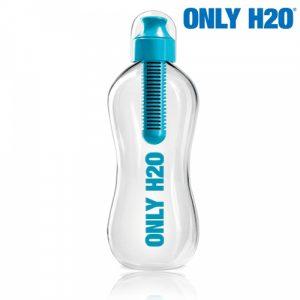 Garrafa com Filtro de Carbono Only H2O !