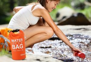 Bolsa Impermeável 2 litros | Pode Transportar os Seus Pertences de Forma Segura e Secos