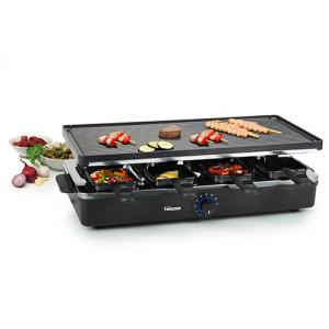Tristar® Raclette 8 Frigideiras | Placa Lisa e Grill | Ra2995