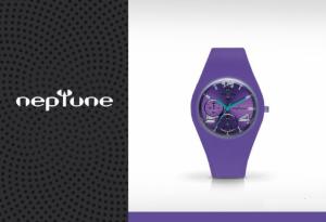 Relógio Neptune Sumergibles Roxo