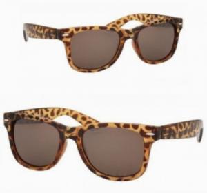 Óculos de Sol Wayfarer Retro Leopardo