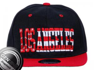 Cap Snapback Los Angeles Letras com Estrelas