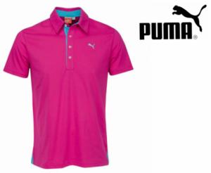 Puma® Polo Homen Rosa