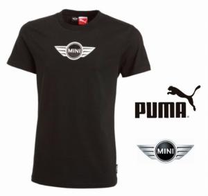 Puma® T-shirt Mini | Em Branco Ou Preto
