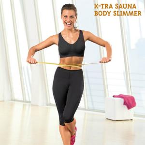 Conjunto Desportivo de Treino X-Tra Sauna Body Slimmer