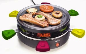 Jocca® Grill Raclette Redondo às Cores | 3 Anos De Garantia