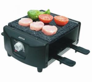 Jocca® Raclette de Pedra | 4 Sertãs Revestimento Anti-Aderente | 3 Anos de garantia
