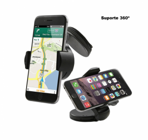Suporte 360º para Telemóvel | GPS | MP3