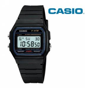 Relógio Casio® F91W Preto