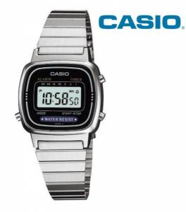 Relógio Casio® LA670 WA Prata | Preto