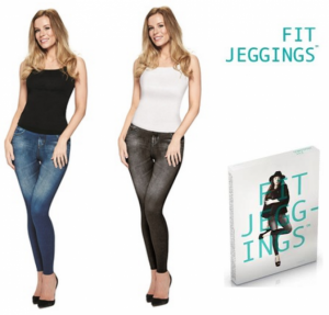 Calças Leggins Fit Jeggings | Azul ou Preto