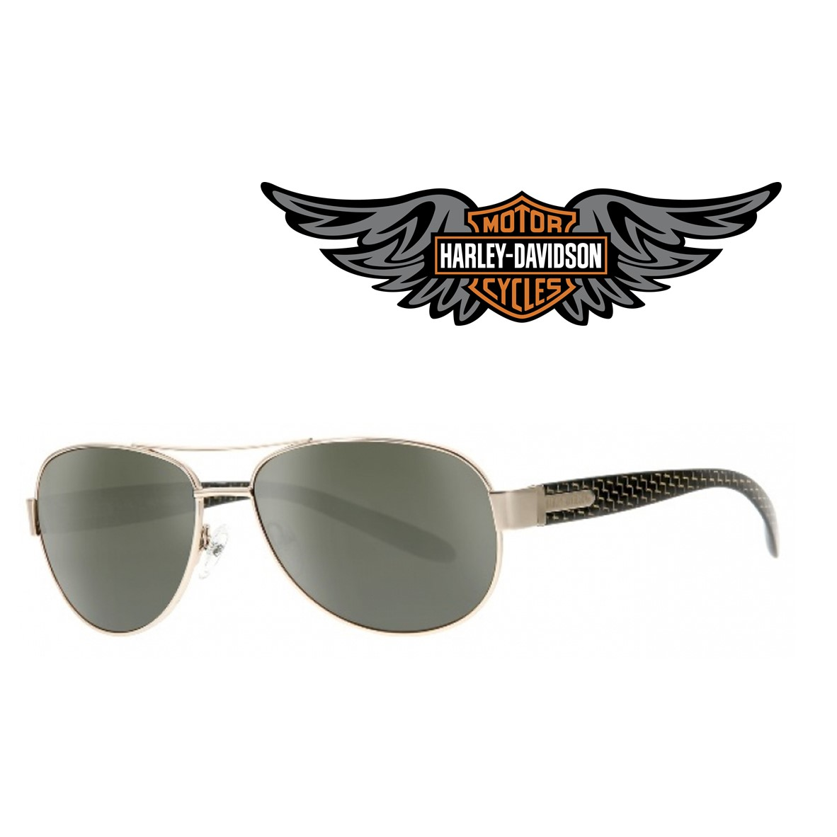 684568179b Harley Davidson® Gafas de Sol HDX 856 GLD-2 - You Like It