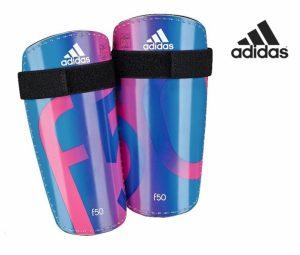 Adidas® Caneleiras F50 Lite | Azul | Rosa