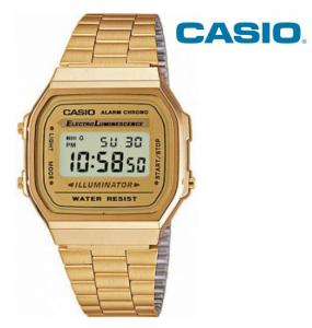 Relógio Casio® 168WG Dourado