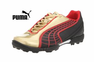 Puma® Sapatilhas Para Sintético Black Team Gold Junior