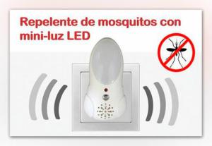 Repelente de Mosquitos Eléctrico com Mini Luz Led