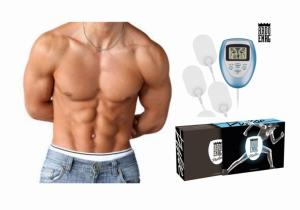 Electroestimulador Abdo | 10 Níveis Int /10 Veloc | Melhor Circulação Sanguínea e Reduz a Dor Muscular