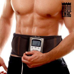 Eletroestimulador Abdo Enrg Blast 6 Modos de Massagem | 10 Níveis Intensidade | 10 Modos Frequência