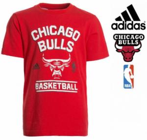 Adidas® Chicago Bulls Júnior | 100% Algodão