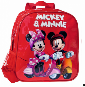 Mickey & Minnie | Mochila Vespa 23 x 28 x 10cm | Produto Licenciado