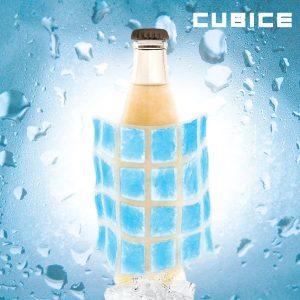 Folhas de Gelo Flexível Cubice | Embrulhar em Comida Fresca ,Líquidos | Aliviar a Febre e Dores Musculares  | Reutilizáveis e Adaptáveis