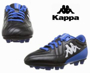 Kappa® Chuteiras Junior Preta e Azul