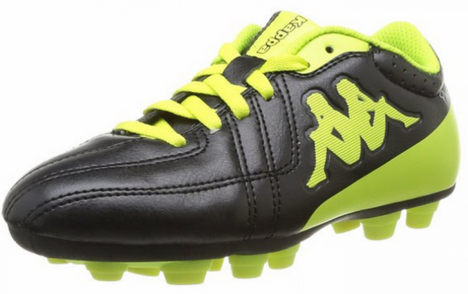 buy good incredible prices top design Kappa Soccer Shoes Junior Black and Yellow - You Like It