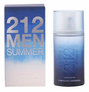 Perfume Carolina Herrera | 212 Men Summer | 100ml